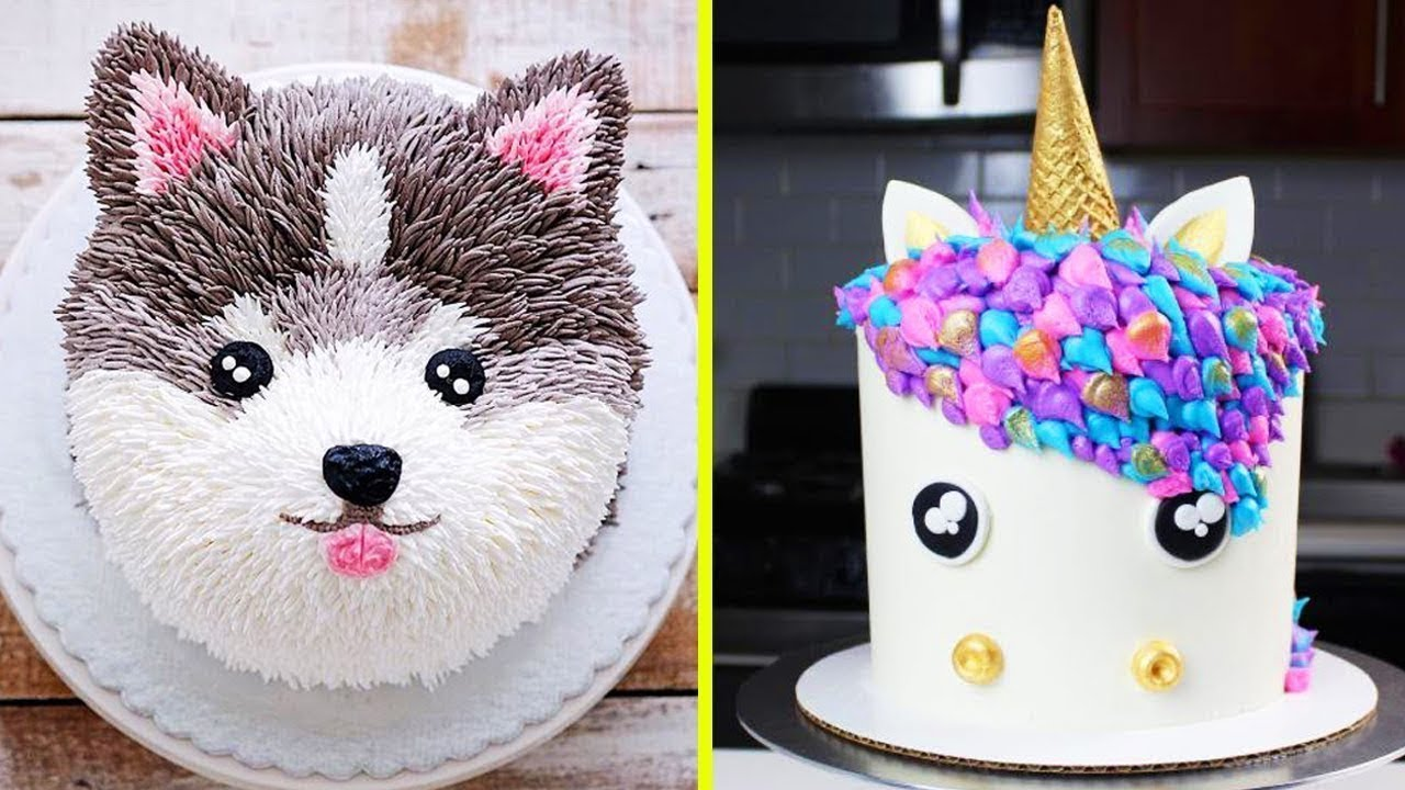 Excellent Top 20 Amazing Birthday Cake Decorating Ideas Cake Style 2018 Funny Birthday Cards Online Overcheapnameinfo