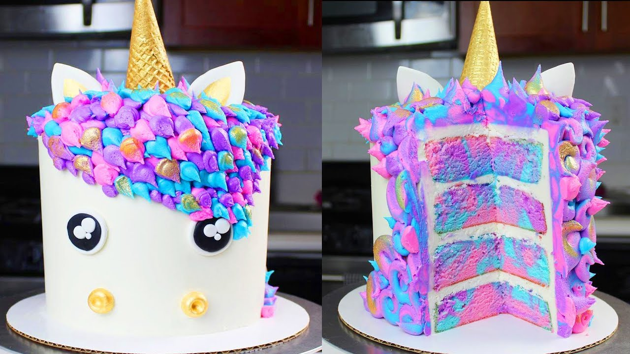 Remarkable Top 10 Yummy Unicorn Cakes 2019Yummy Birthday Cake Recipe Personalised Birthday Cards Cominlily Jamesorg
